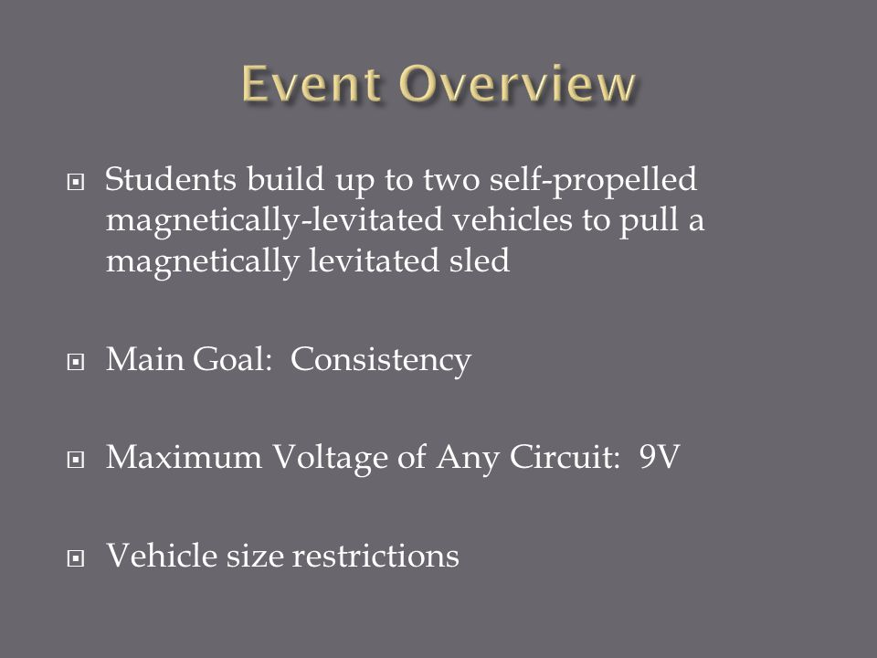 Make sure your students closely investigate why their vehicle stops in the track.