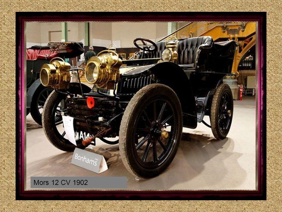 1902 Mors French Manufactured 15 CV Model J
