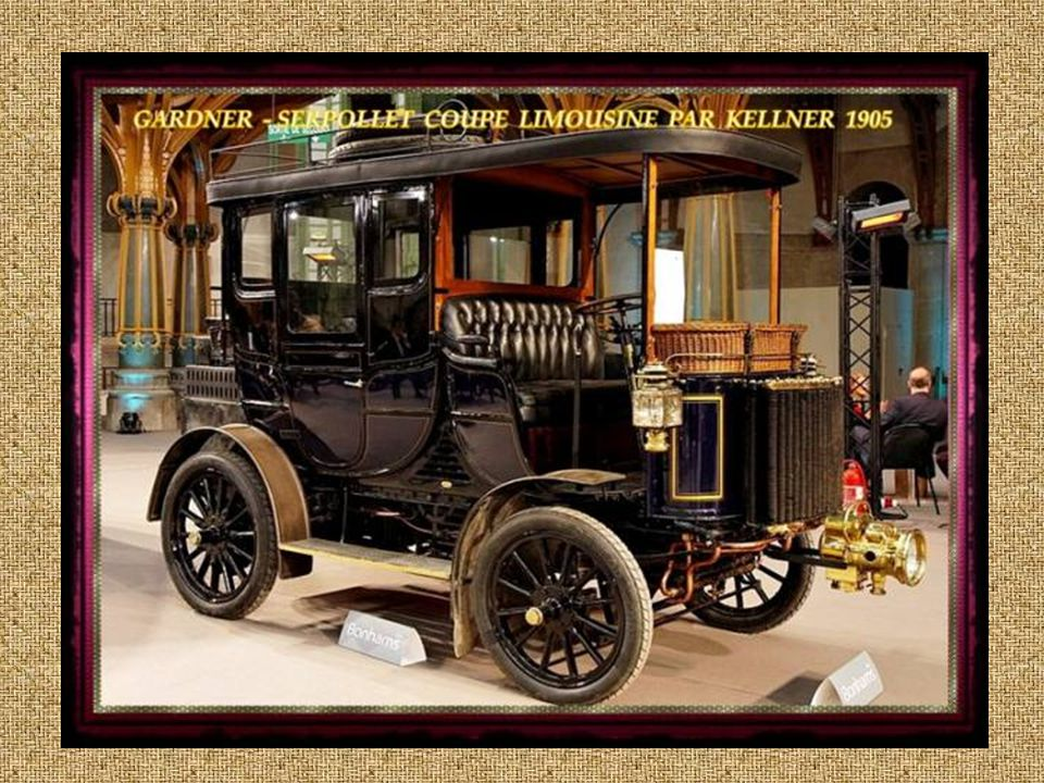 French Berliet 28 CV Four Cylinder 1912