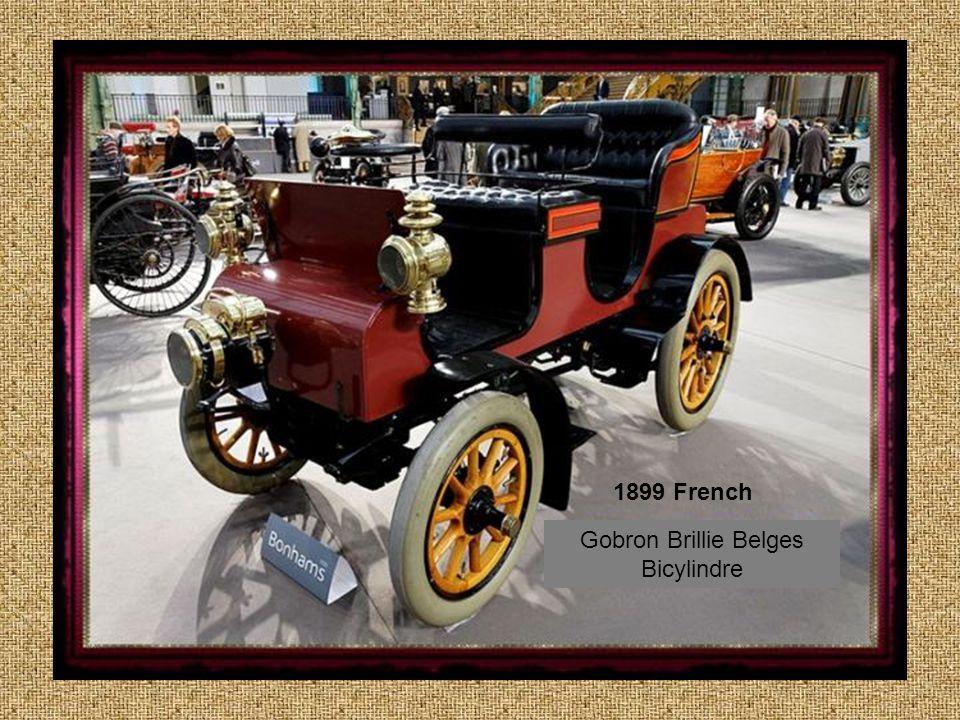 British 1904 Arrol Johnston 3 cyl 20 HP Limousine with detachable top