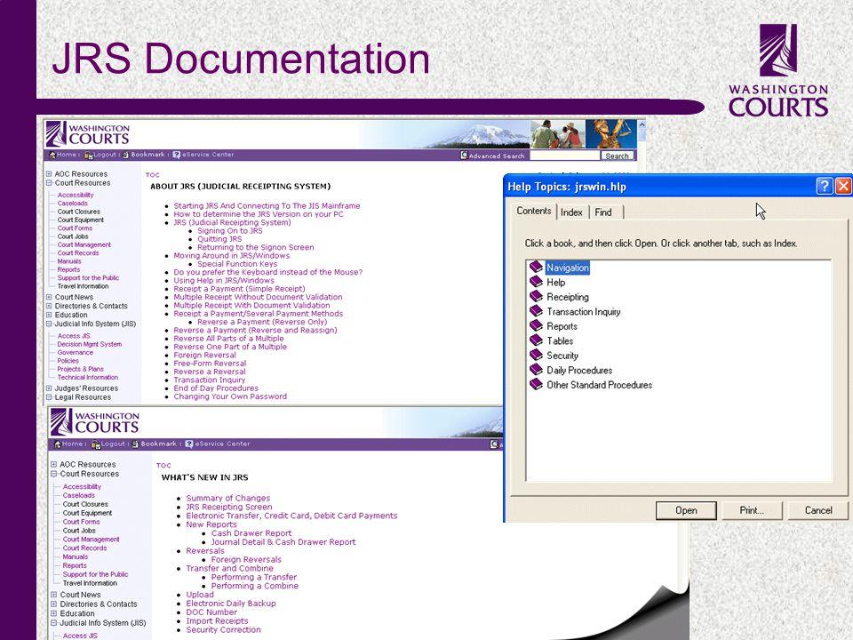 c JRS Documentation