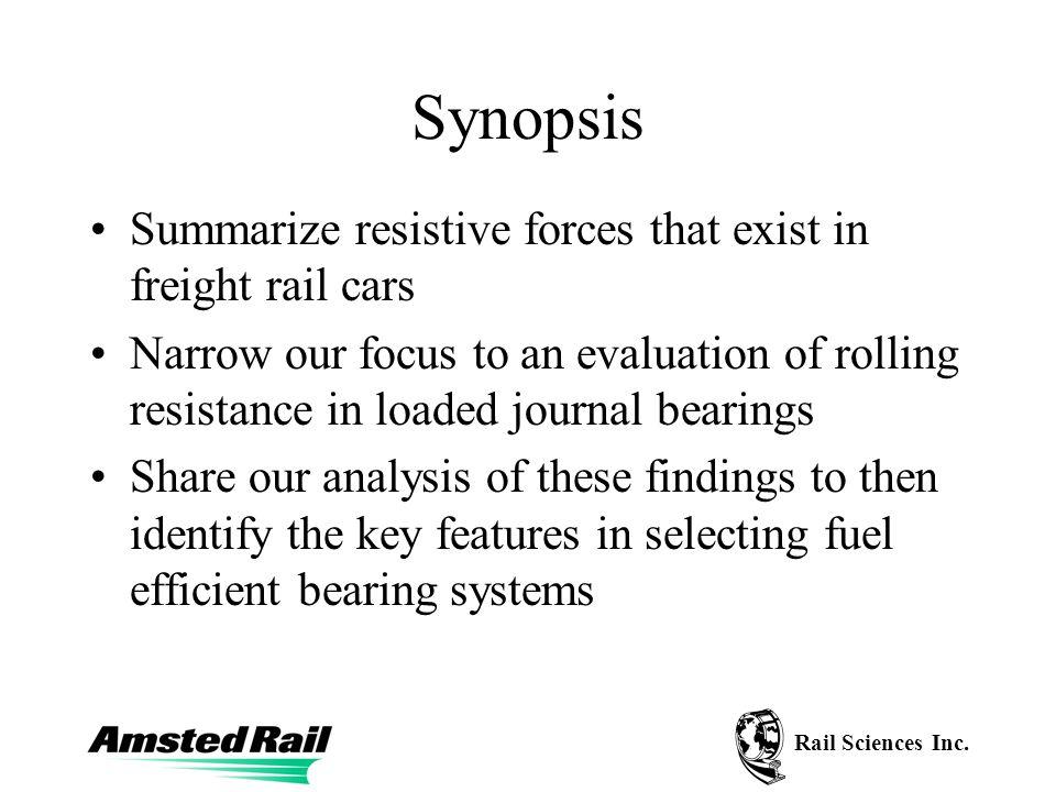 Rail Sciences Inc. Typical Torque versus Temperature