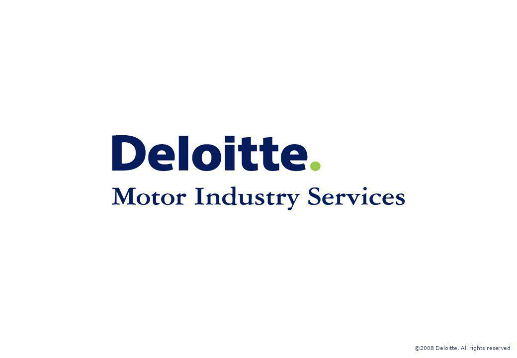 ©2008 Deloitte. All rights reserved