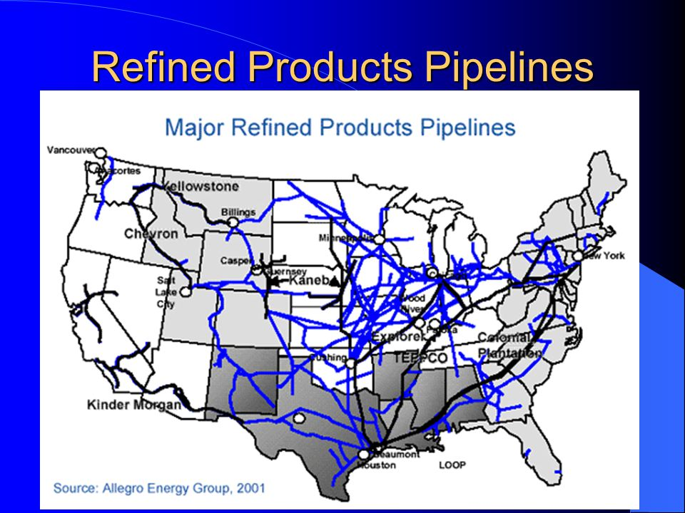 Refined Products Pipelines