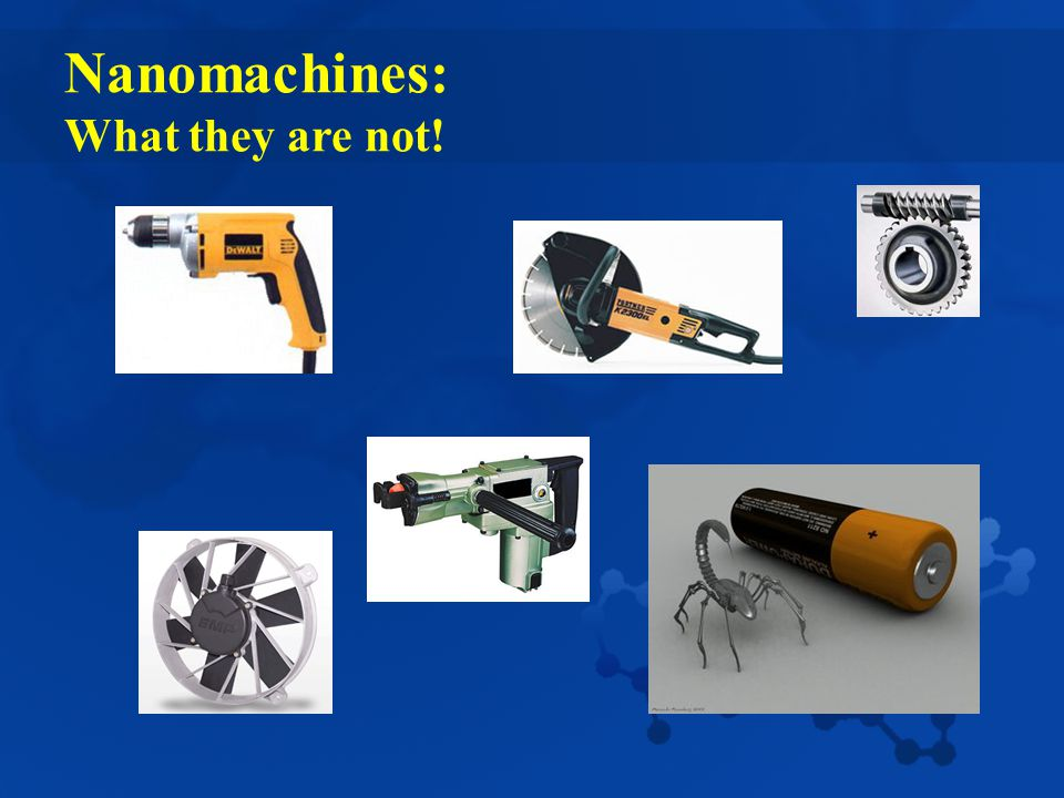 Nanomachines: What they are not!