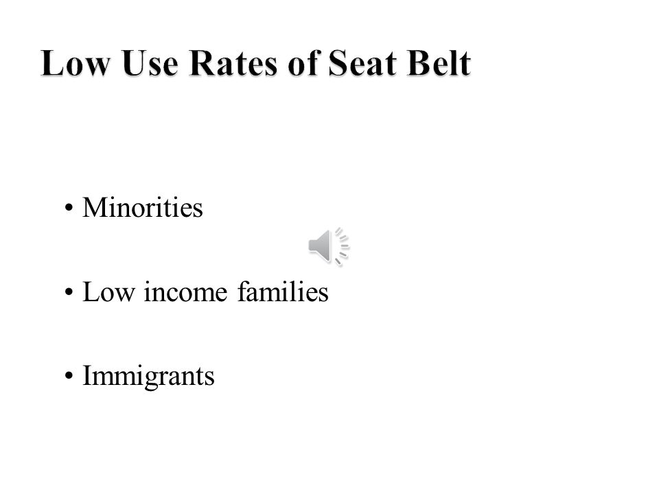 Minorities Low income families Immigrants