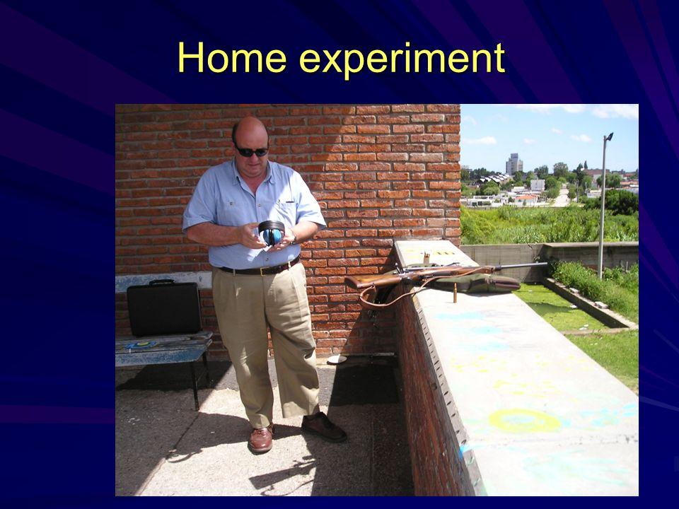 Home experiment
