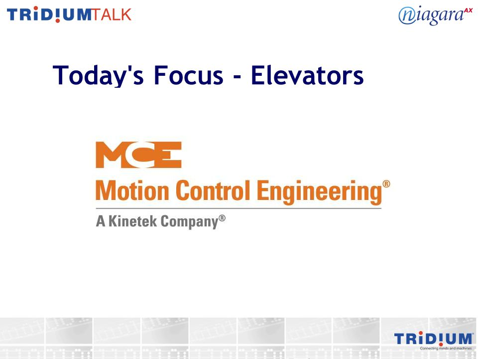 Today's Focus - Elevators