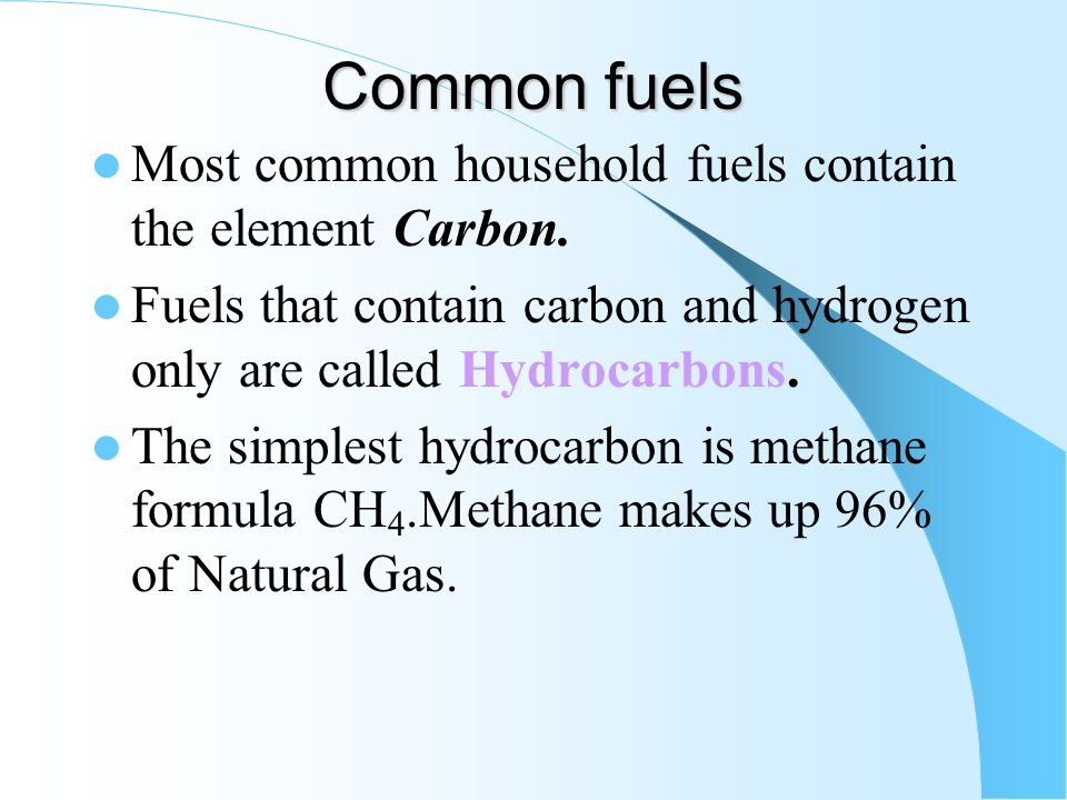 Fuels A Fuel is a substance that produces Energy when burned. A good fuel releases its energy over a longer period of time A reaction in which energy