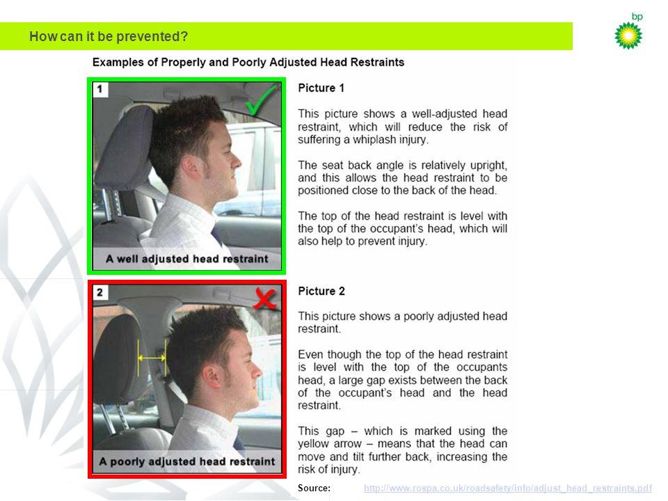 DWX Technology Planning Workshop July 27, 2000 Source: http://www.rospa.co.uk/roadsafety/info/adjust_head_restraints.pdfhttp://www.rospa.co.uk/roadsafety/info/adjust_head_restraints.pdf How can it be prevented