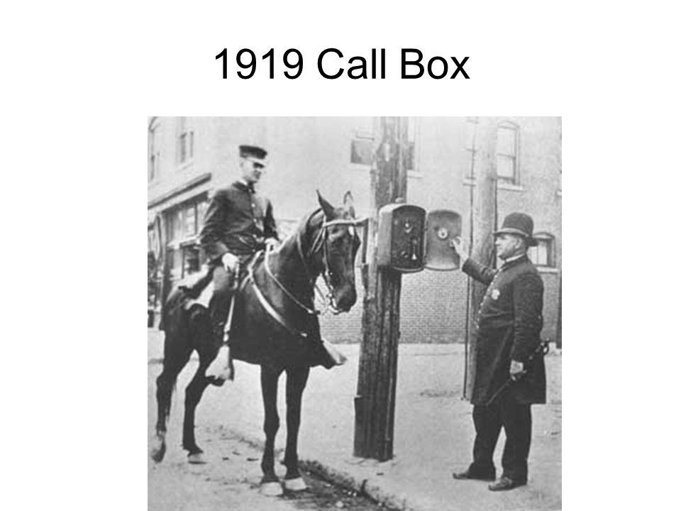 1919 Call Box