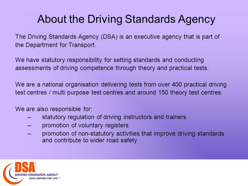 Background to taxi testing We have provided licensing authorities with a driving assessment for taxi drivers since 1999.