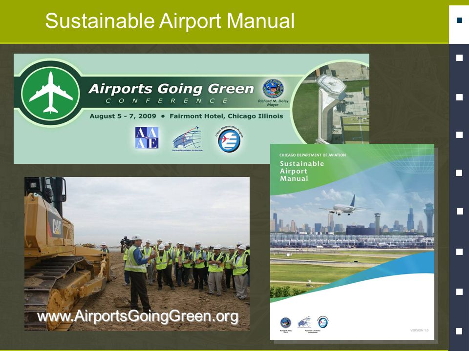 Sustainable Airport Manualwww.AirportsGoingGreen.org