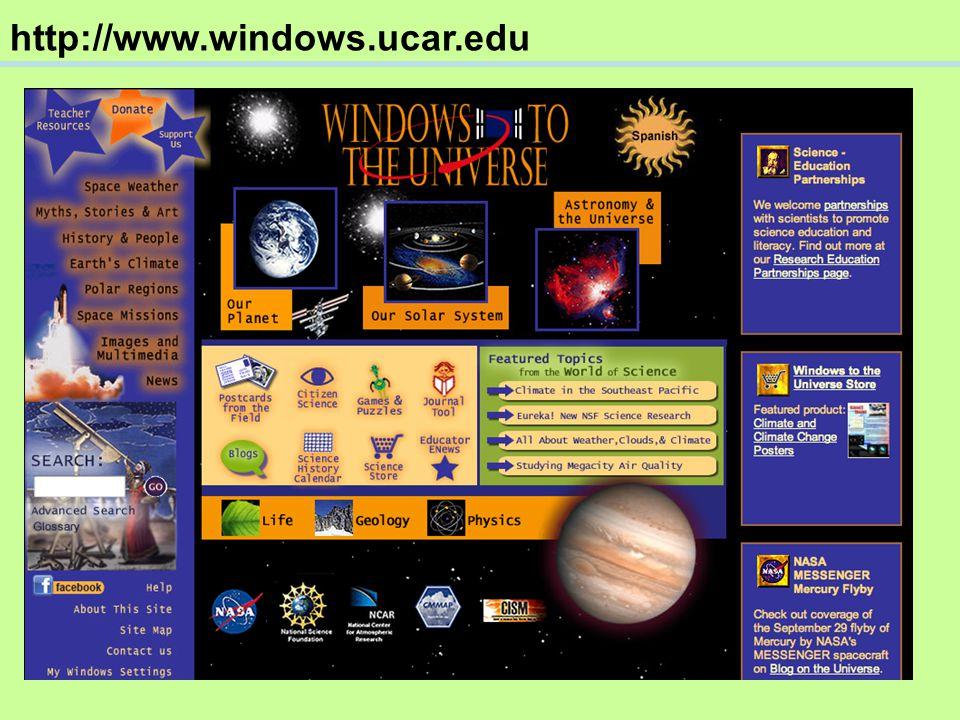 http://www.windows.ucar.edu/climate.html