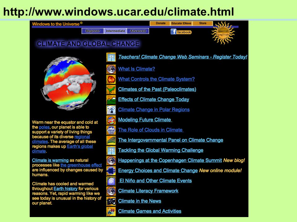 Windows to the Universe Educator Newsletter Sign up now!