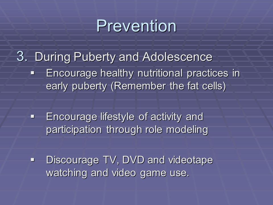 Prevention 3.