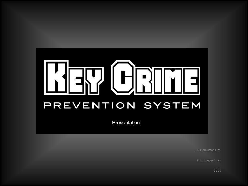 Slide 1 www.keycrime.com Slide 1 E.R.Bouwman ll.m. ir J.J.Baggerman 2005 Presentation