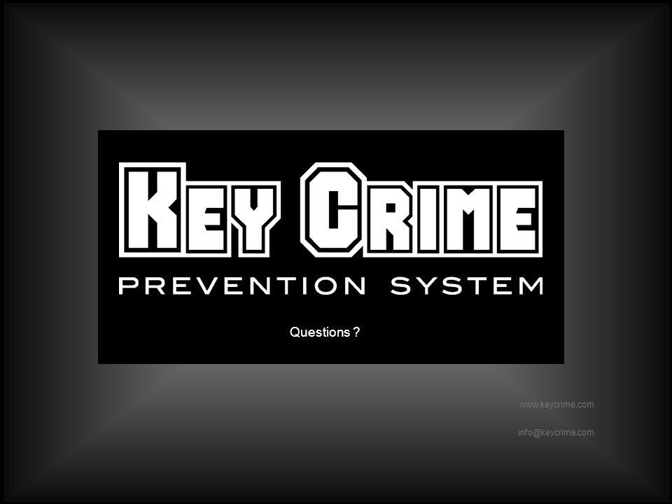 Slide 40 www.keycrime.com Slide 40 www.keycrime.com info@keycrime.com Questions