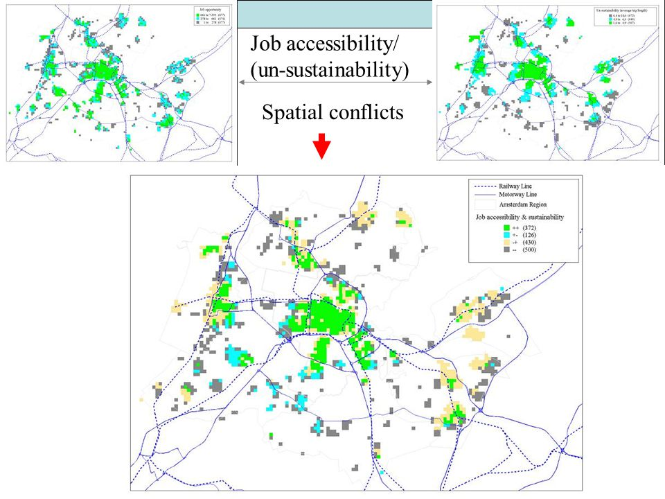 GIS in Transport Adam Winstanley Job accessibility/ (un-sustainability) Spatial conflicts