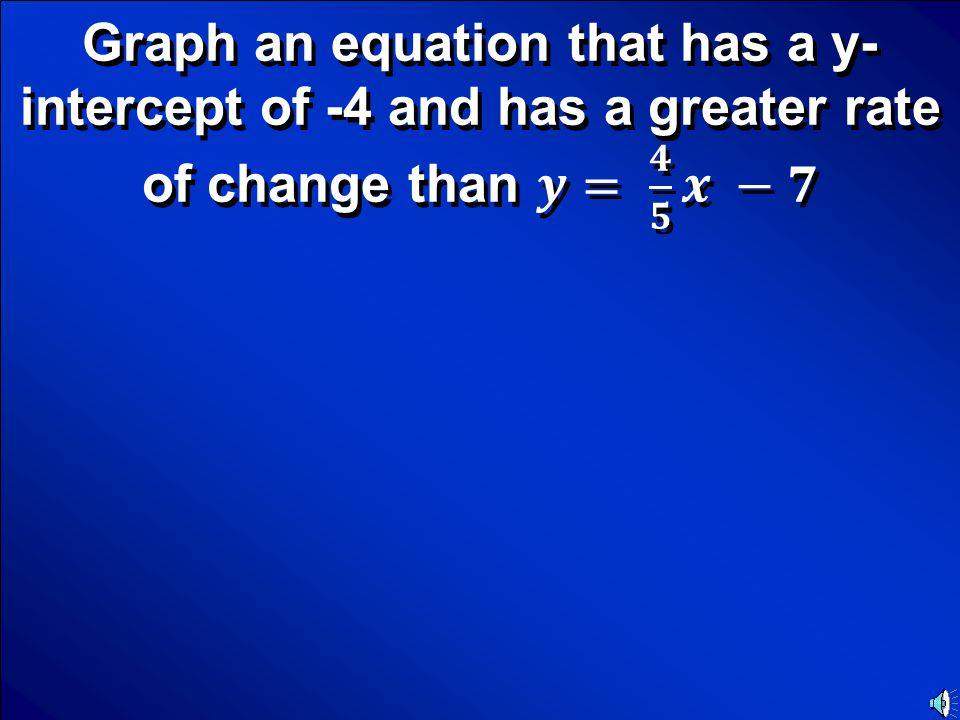 © Mark E. Damon - All Rights Reserved Scores Category… Graphing an equation Final Jeopardy Question