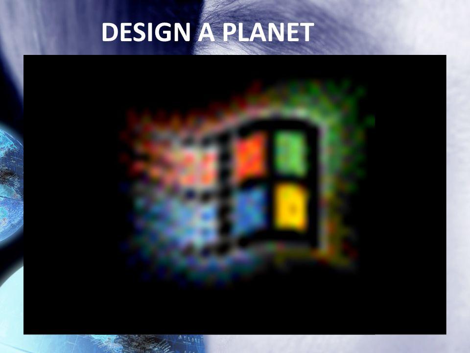 DESIGN A PLANET