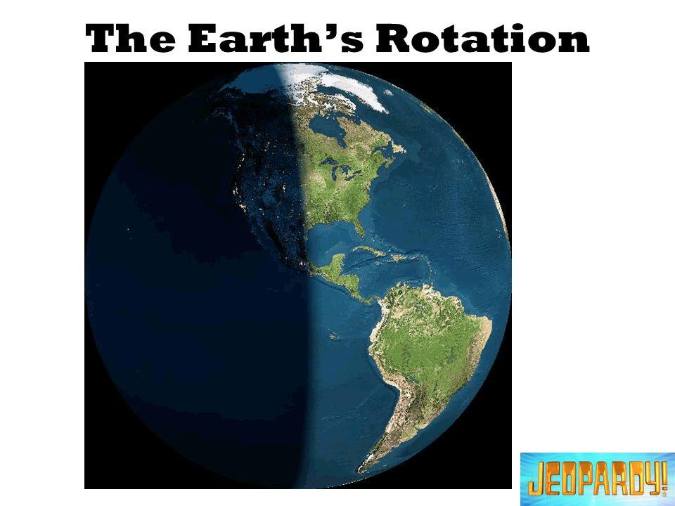 The Earths Rotation