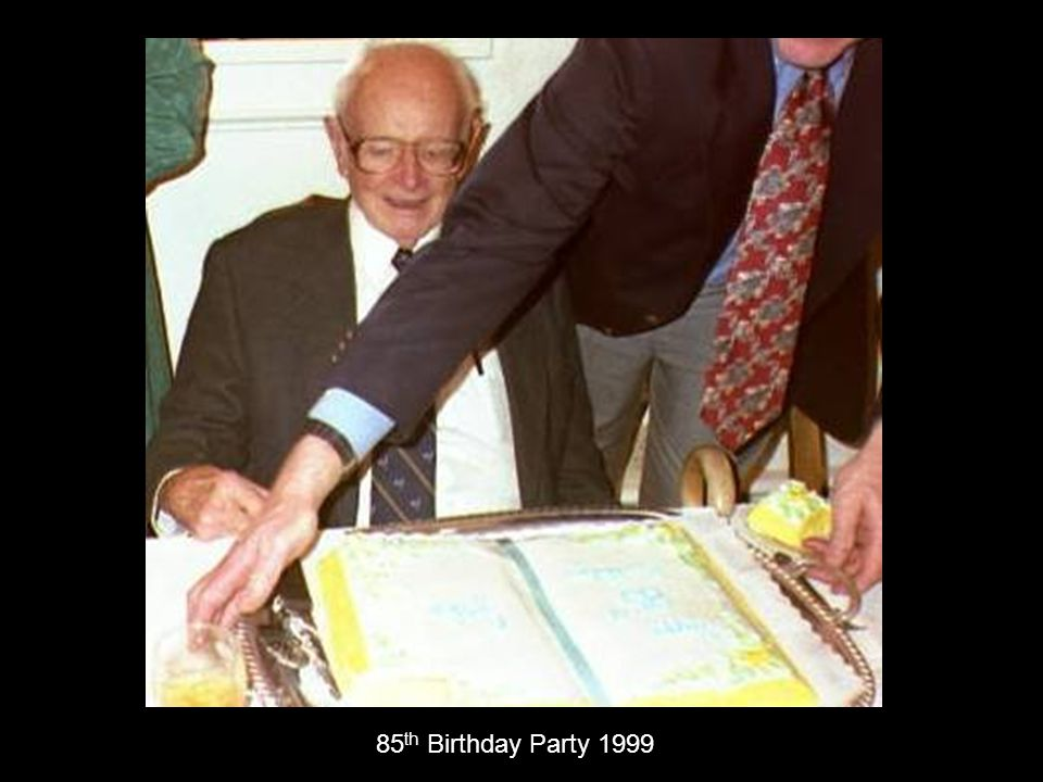 85 th Birthday Party 1999