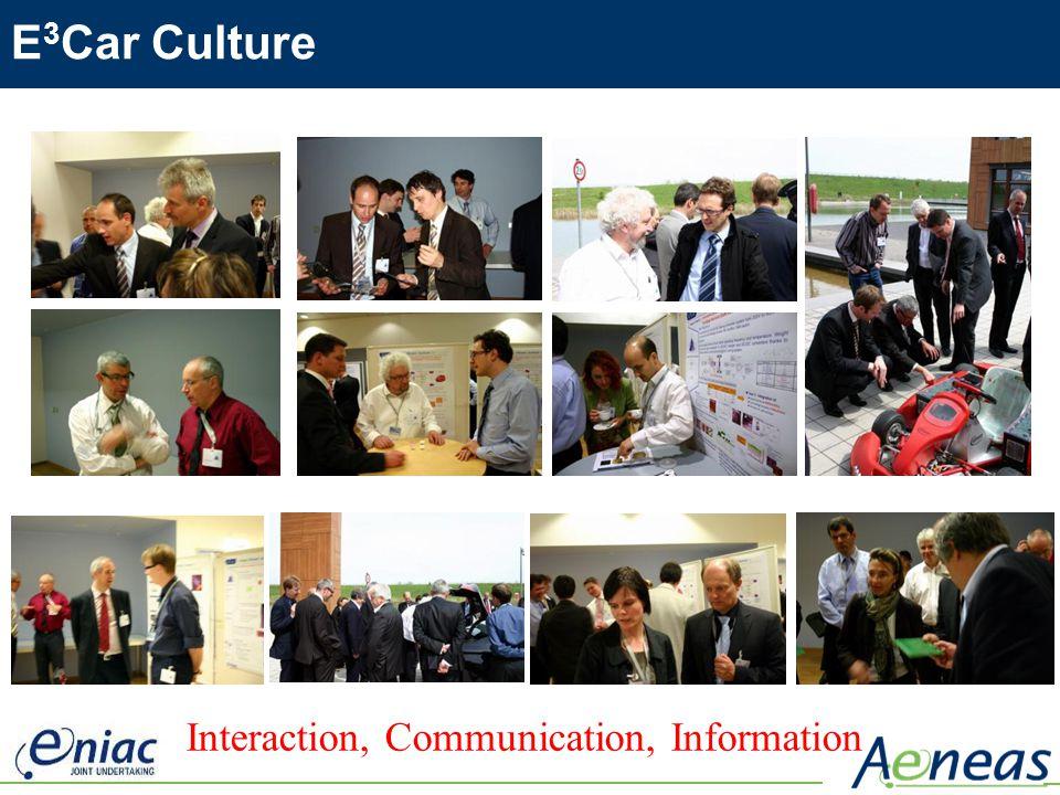 E 3 Car Culture Interaction, Communication, Information