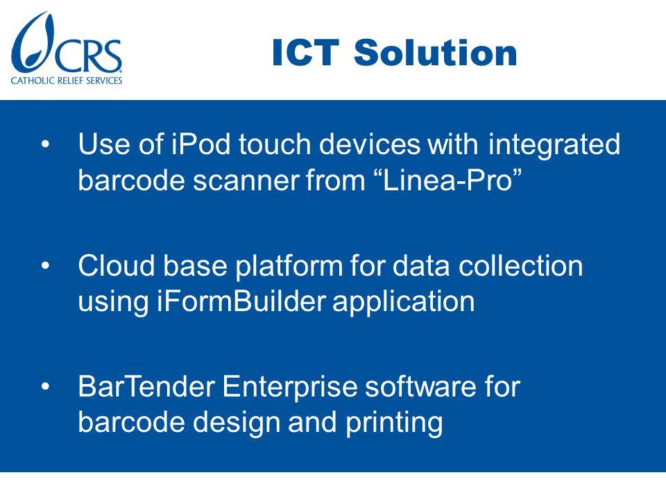 ICT Solution – cont.
