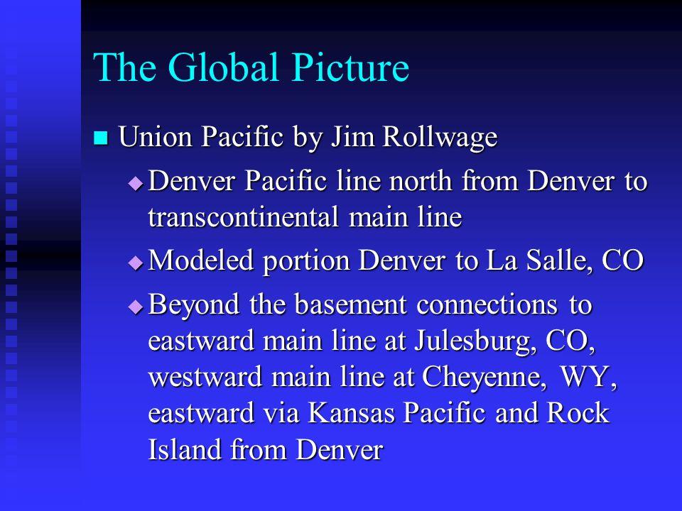 The Global Picture Pittsburgh CR, B&O, N&W, P&LE Waynesburg, PA Washington PS Wheeling Branch Freelance N&W Real N&W Bridgeville Wheeling, WV CR, B&O, N&W