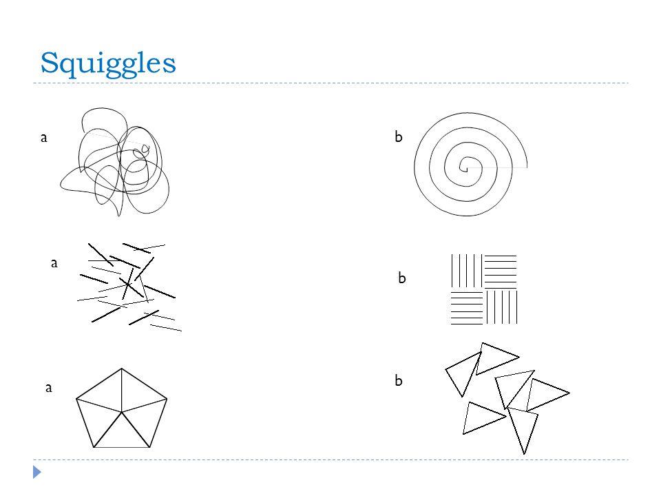 Squiggles a a b a b b