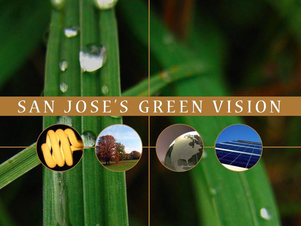 San Joses Green Vision