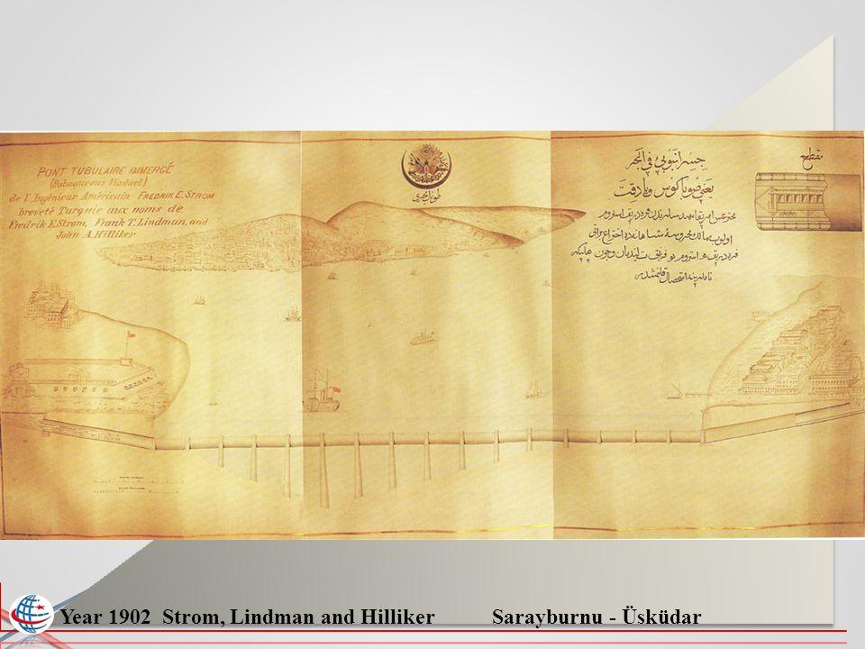 Year 1902 Strom, Lindman and Hilliker Sarayburnu - Üsküdar