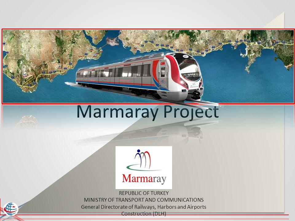 Year 2010 Sarayburnu - Üsküdar A dream of 150 years Marmaray Project