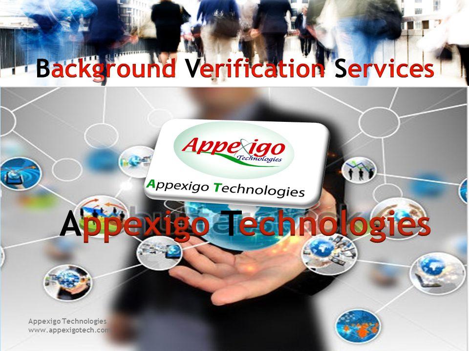 Appexigo Technologies www.appexigotech.com