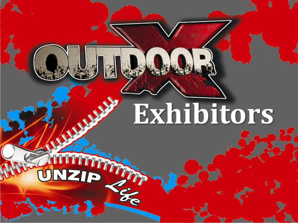 Outdoor X Show Address and Contact details : 101 RING ROAD, THREE RIVERS, VEREENIGING,1935 Show Organizers: Quentin and Liezel Versfeld TEL: (016) 423-4073/5277 CELL: 083 300 6549 / 083 3811 705 E-MAIL: info@outdoorx.co.za WEB: www.outdoorx.co.za www.outdoorx.co.za