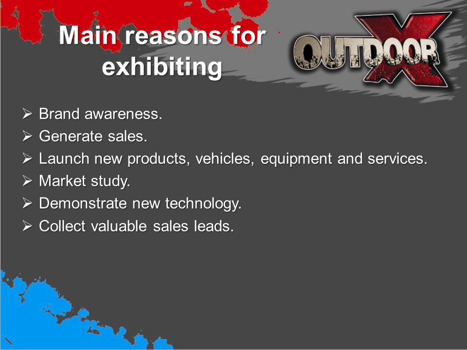 Achieve best results when exhibiting Pre-event marketing.