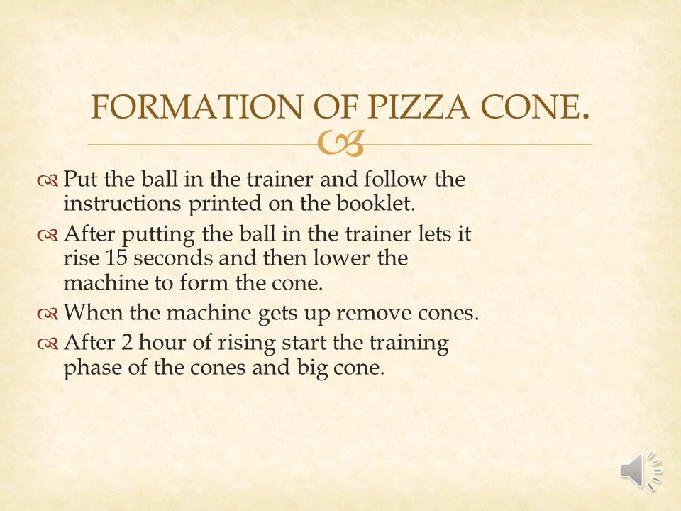Put the ball in the trainer and follow the instructions printed on the booklet.