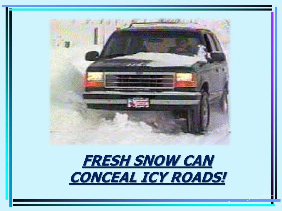 BLACK ICE SAFE REACTIONS DONT PANIC.DONT PANIC.