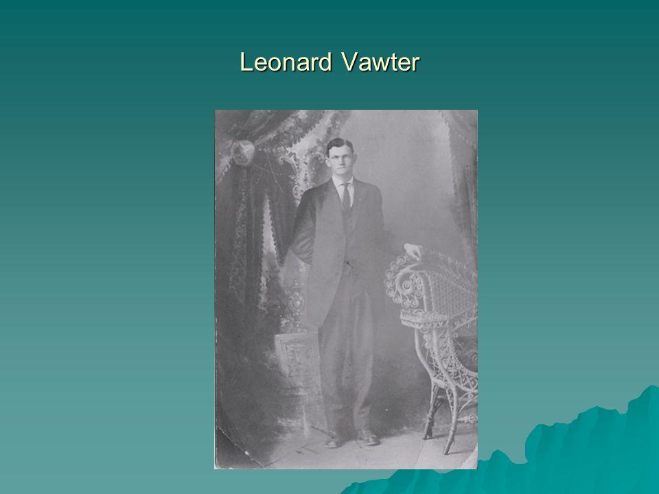 Leonard Vawter