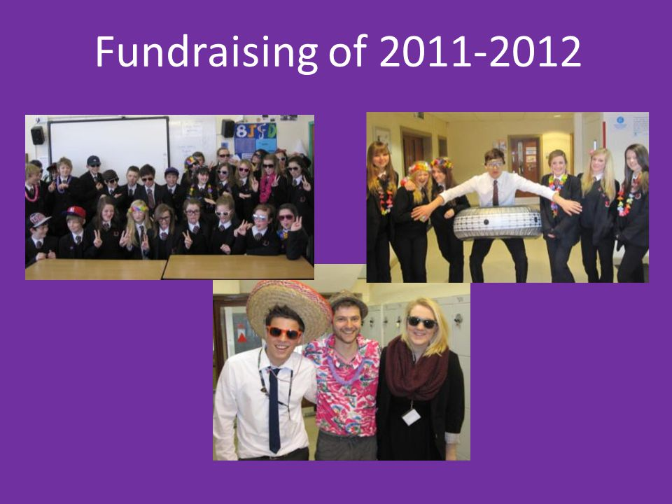 Fundraising of 2011-2012