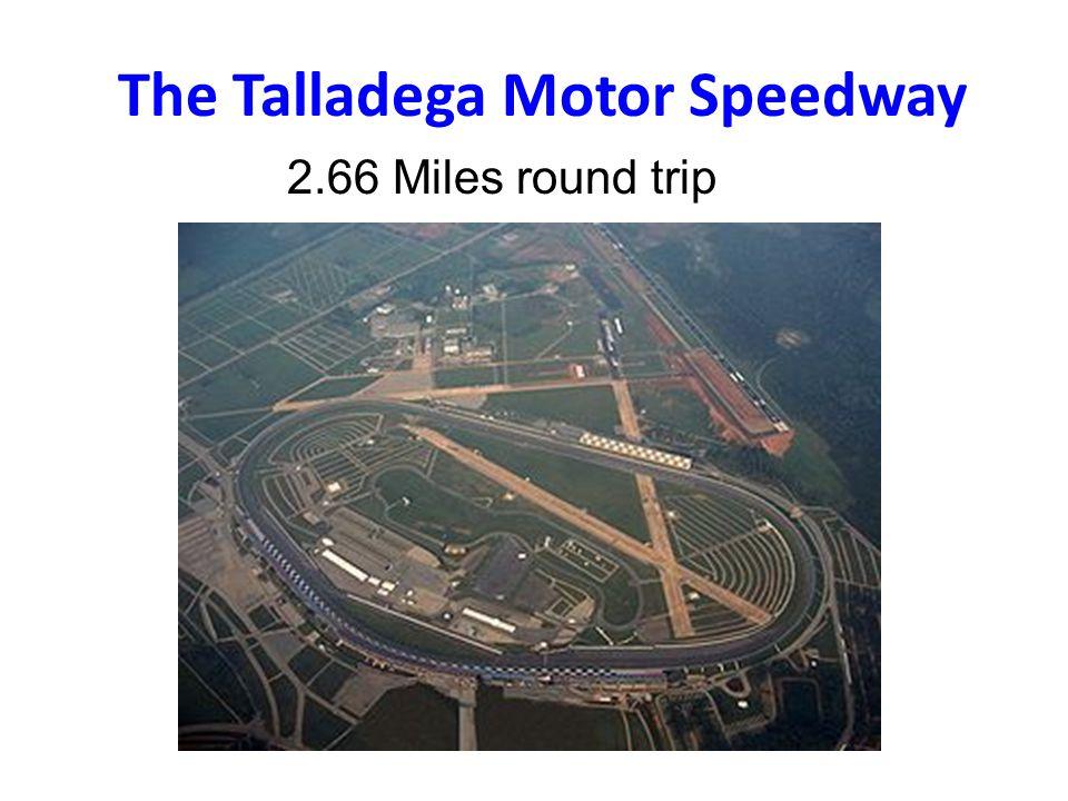 The Talladega Motor Speedway 2.66 Miles round trip