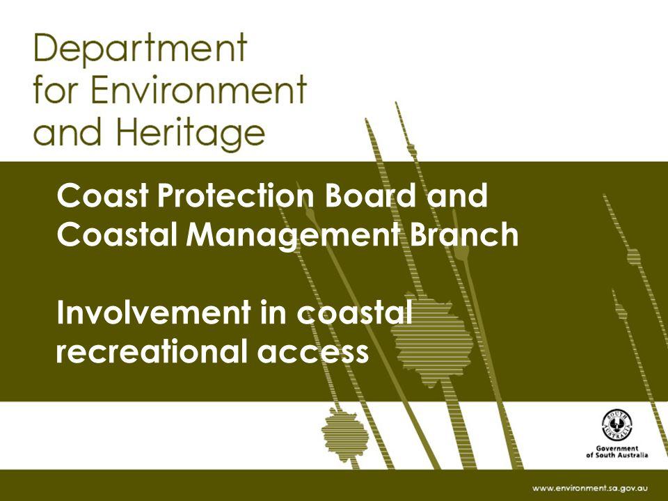 Recreational Coastal Access 19462008