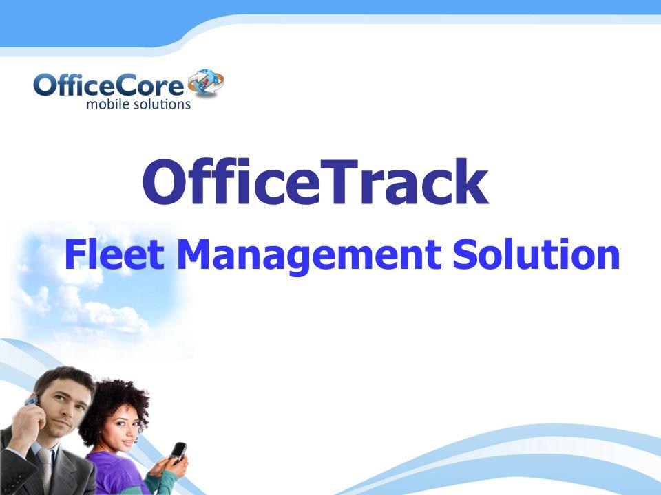 OfficeTrack Fleet Management Solution