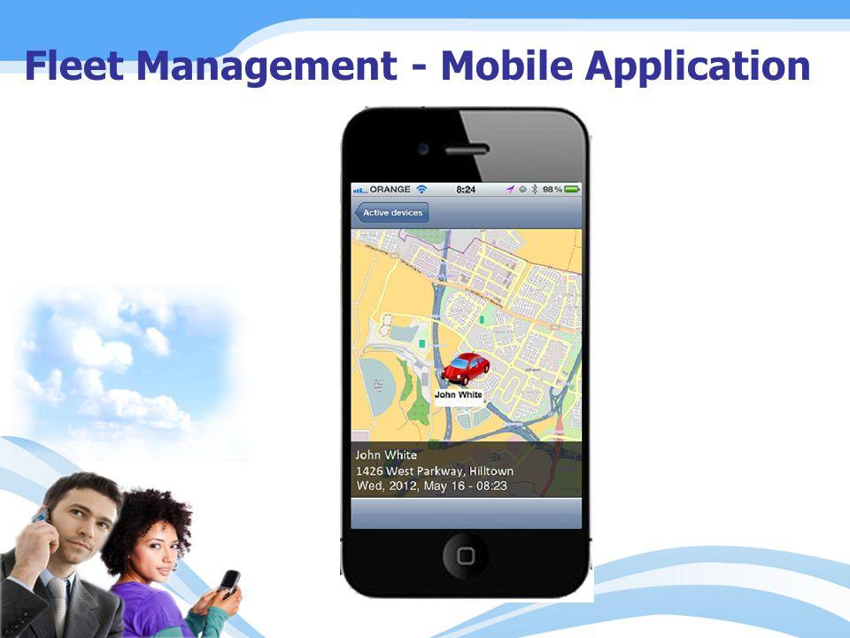 Fleet Management - Mobile Application