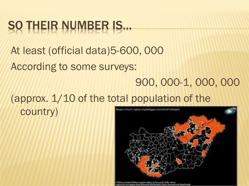 At least (official data)5-600, 000 According to some surveys: 900, 000-1, 000, 000 (approx.
