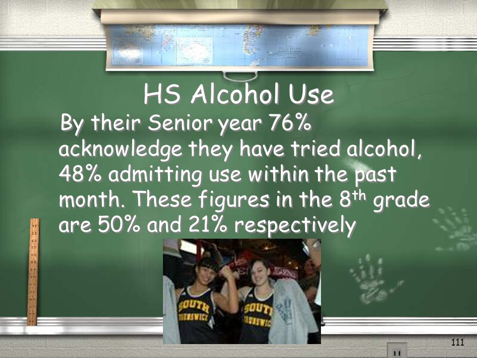 Alcohol and Teens 110