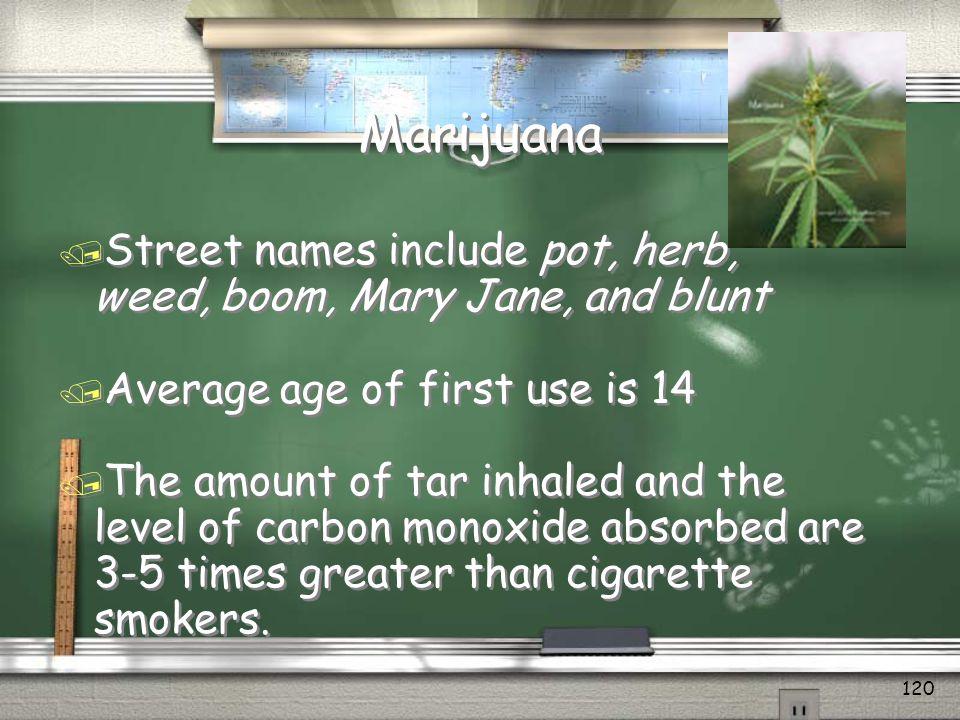 Marijuana & Teens Whats the problem with pot? © 2010 ADDICTION SOLUTIONS 119