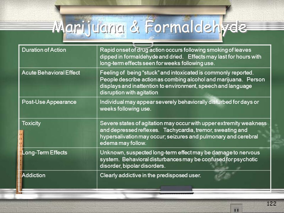 Withdrawal From Marijuana / Heavy MJ smokers meet by report more than 6 of the 9 Criteria for substance dependence in a recent study (3 Req) / Most severe withdrawal at day 2-3.