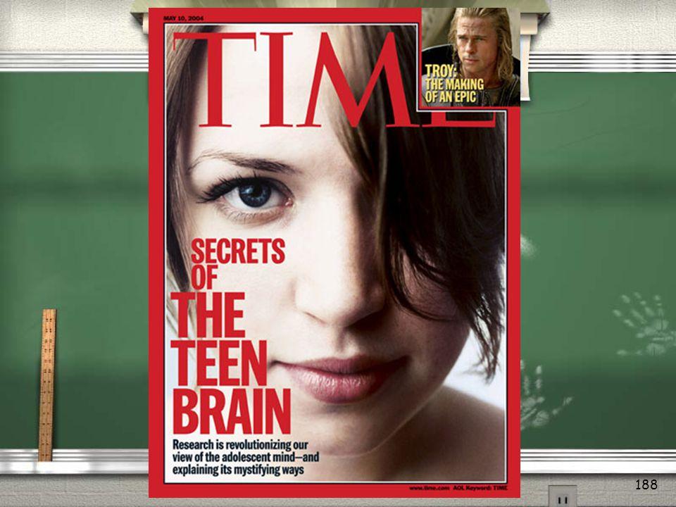 Adolescent Thinking & Brain Chemistry Module 12 187